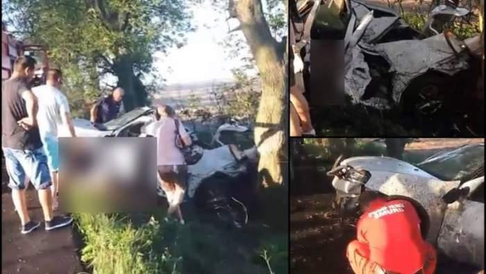 """Scene șocante la locul accidentului din Constanța, în care o tânără de doar 29 de ani a murit: """"Pui, zi ceva să te aud!"""" / VIDEO"""