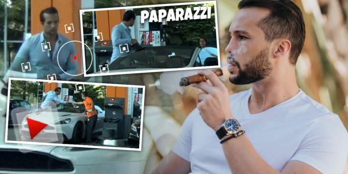 Tristan Tate nu se uită niciodată la bani! Fostul Biancăi Drăgușanu, gest de omenie în public! Cum a fost surprins alături de fratele său! / PAPARAZZI