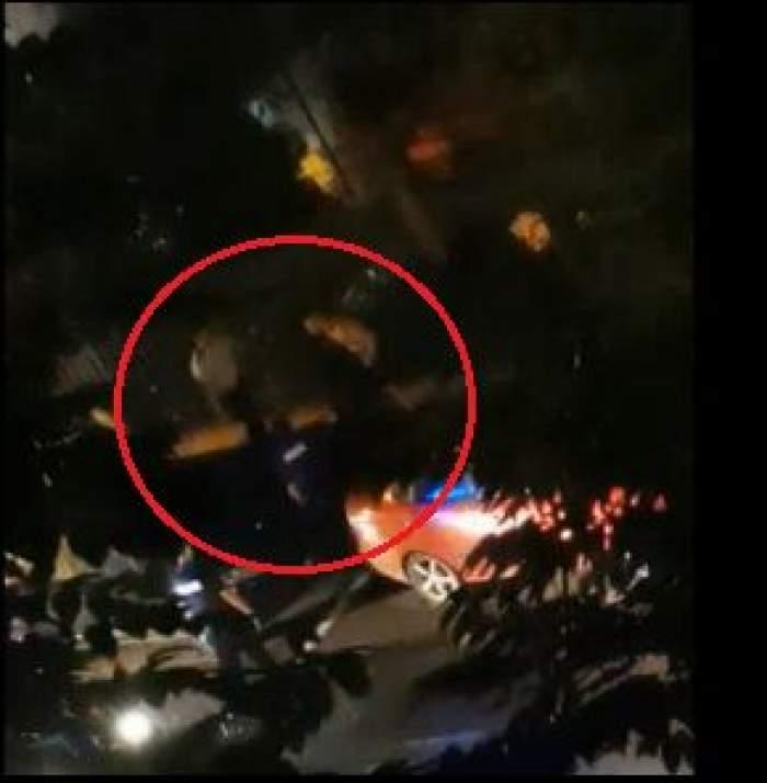 """Polițist pus la pământ de un recidivist beat, pe străzile din București: """"Culcat!"""" / VIDEO"""