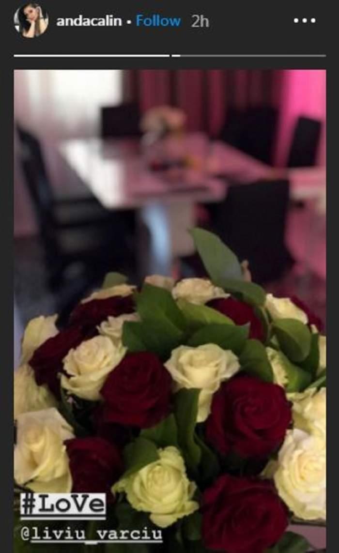 Liviu Vârciu, cadou romantic pentru iubita lui! Ce a primit Anda Călin la ceas de seară! / FOTO