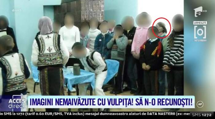 Cum arăta Vulpița la școală! Așa s-a îmbrăcat Veronica l-a banchet! Imagini nemaivăzute! / VIDEO