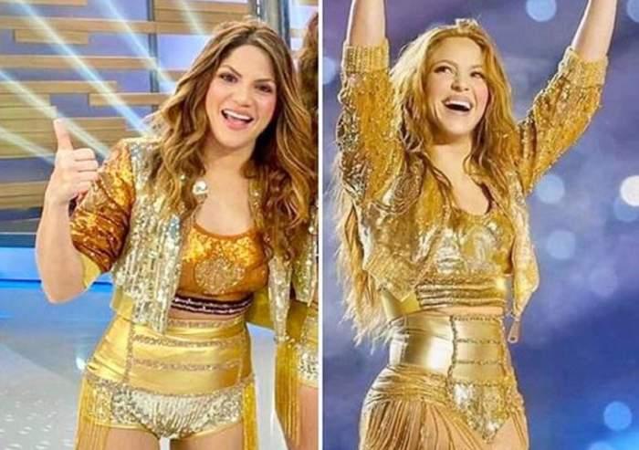 Shakira, față în față cu sosia sa! Tânăra seamănă leit cu artista, încât lumea o confundă pe stradă cu ea! / FOTO