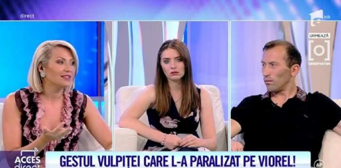 """Soția presupusului iubit al Vulpiței a sunat la Acces Direct! """"De vreo două săptămâni l-a prins pe Vasile vorbind cu Veronica"""" / VIDEO"""