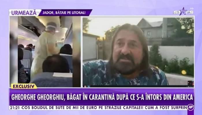 Gheorghe Gheorghiu, primele declarații după ce s-a întors din America! Ce decizie importantă a luat artistul! / VIDEO