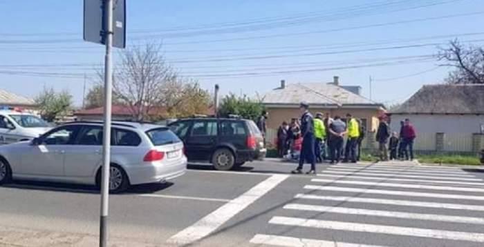 Accident grav la Pitești! Trei adolescente, lovite pe trecerea de pietoni