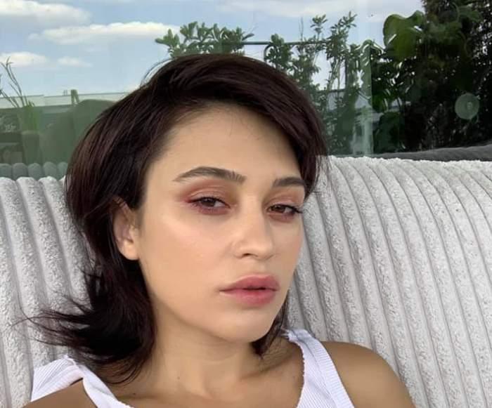 """Irina Rimes, cu lenjeria intimă la vedere pe Internet. Fanii au luat-o la rost imediat: """"Nu te supăra, am fost sinceră"""" / FOTO"""