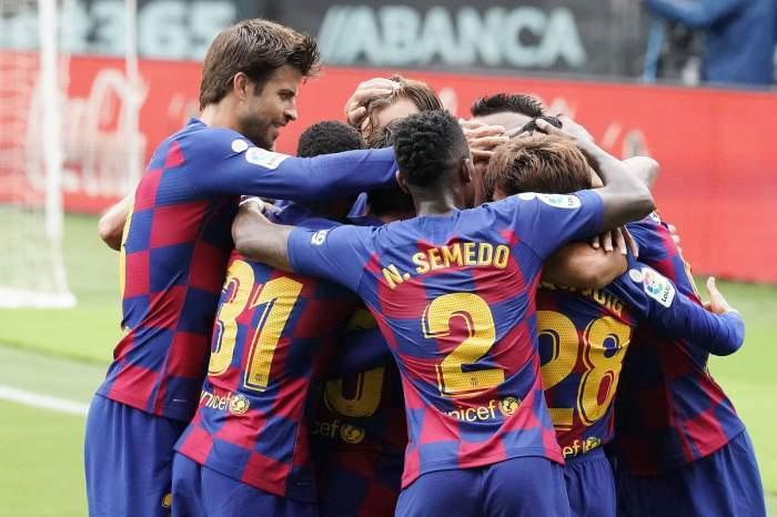 Un jucător de la Barcelona a fost depistat cu coronavirus