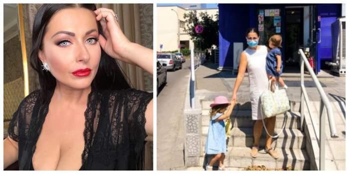 """Gabriela Cristea a ajuns cu fetițele la spital! Ce s-a întâmplat cu micuțele: """"O lume întoarsă cu susul în jos"""""""