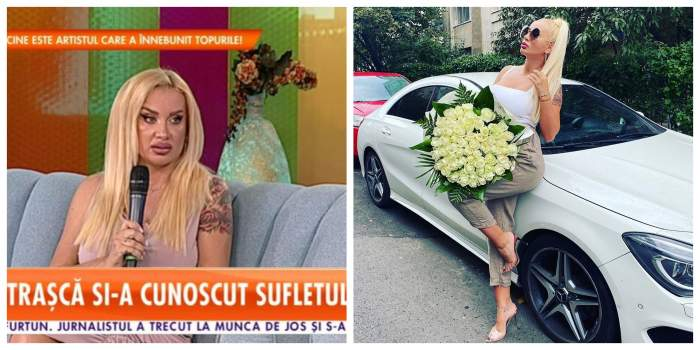 De la cine sunt buchetele imense de trandafiri primite de Simona Trașcă în miez de noapte! Blondina a deslușit misterul / VIDEO