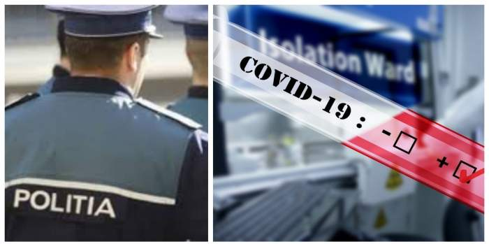 Focar de infecție la IPJ Timiș! 22 de polițiști, depistați cu coronavirus