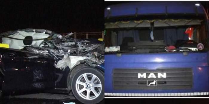 Noi detalii în cazul accidentului din Pitești! Șoferul de TIR care a ucis o mamă și pe fiica ei avea magnet pe tahograf