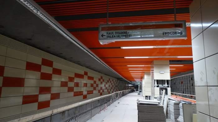 """Metroul din Drumul Taberei va circula în curând. Ministrul Transporturilor a făcut anunțul așteptat de ani de zile: """"Nu mai există niciun impediment"""""""