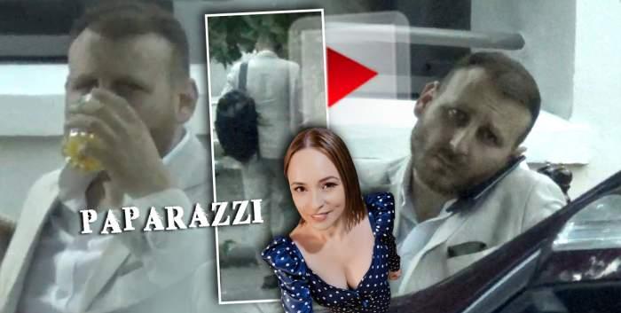 Singur, atât de singur! Iubitul Andreei Marin, trist și abătut la terasă! Cum a fost surprins bărbatul la ceas de seară! / VIDEO PAPARAZZI