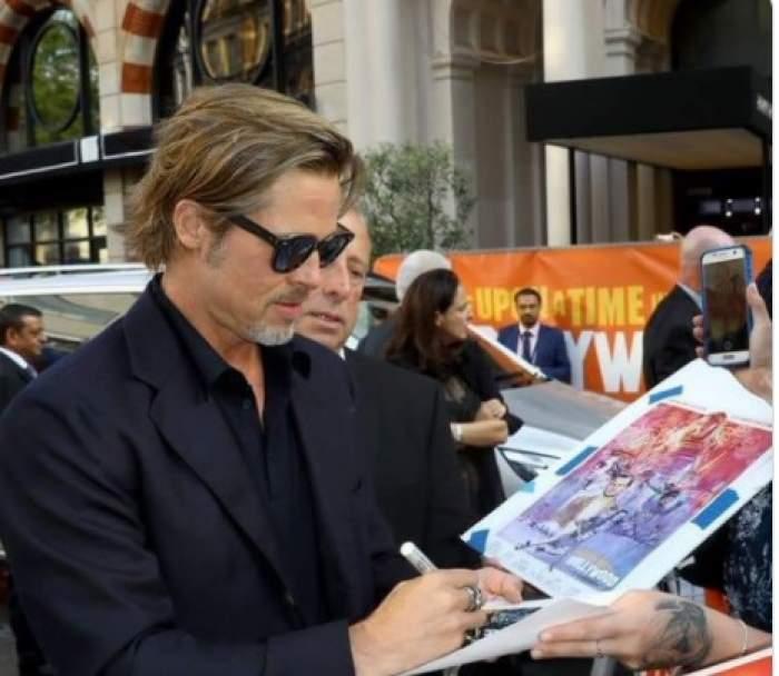 Brad Pitt are o nouă iubită! Femeia are 29 de ani și este copia fidelă a Angelinei Jolie / FOTO