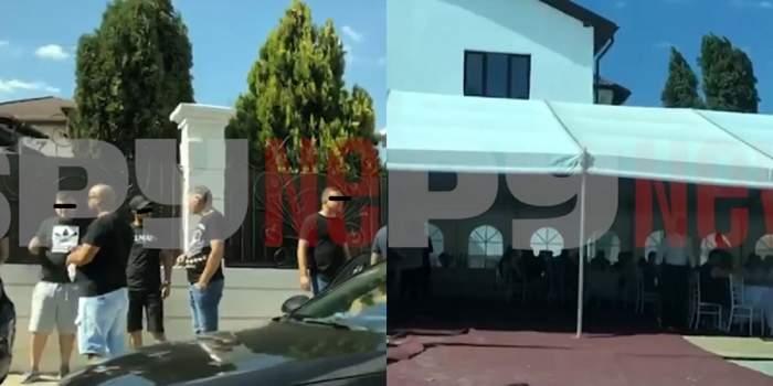 Imagini exclusive de la priveghiul lui Emi Pian! Ce gest au făcut participanții în semn de regret pentru liderul interlop! / VIDEO