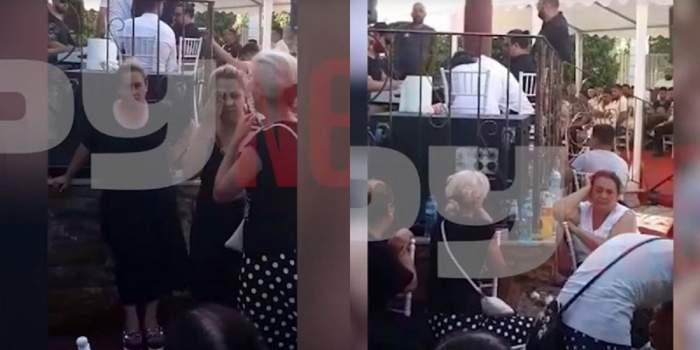 Florin Salam, cântec de jale la priveghiul lui Emi Pian! Oamenii s-au adunat în număr mare să-l asculte pe celebrul manelist! / VIDEO