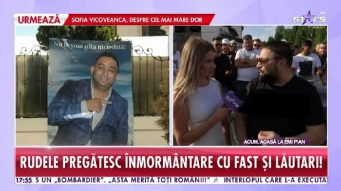 """Când va avea loc înmormântarea lui Emi Pian! Florin Salam: """"Cum hotărăsc frații lui"""""""