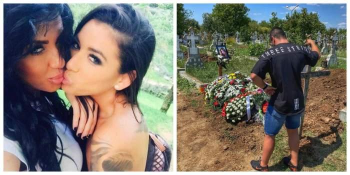 """""""Iubita"""" Roxanei Vancea a fost înmormântată!Elena Popa, condusă pe ultimul drumde familie șiapropiați: """"Ați plâns-o doar online, falșilor"""""""