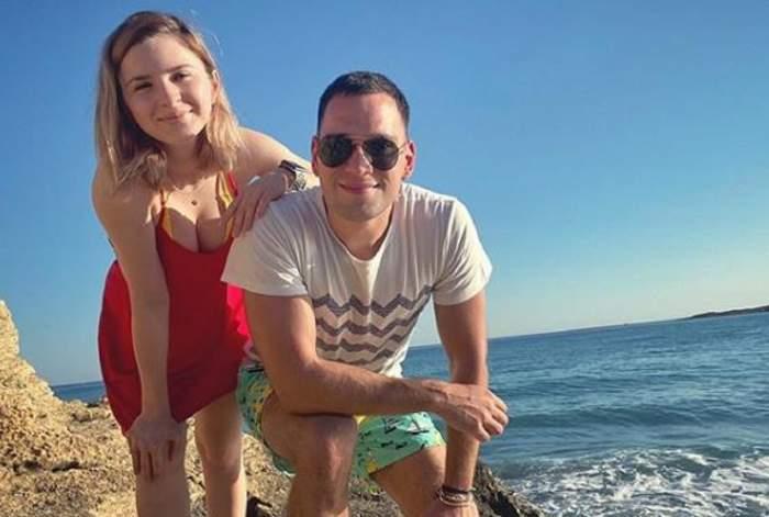Cristina Ciobănașu și Vlad Gherman, mesaje din intimitate! Cum o are actorul trecută în telefon pe iubita lui! / FOTO