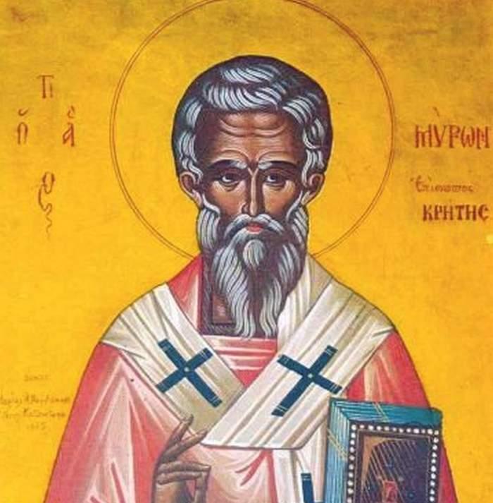 Calendar ortodox sâmbătă, 8 august.Ce sfânt este sărbătorit astăzi