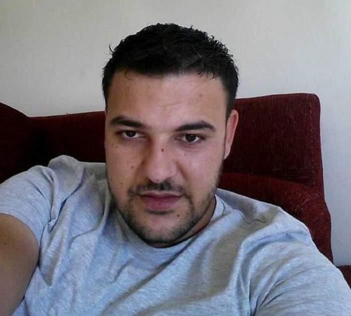 Florin ALbu, cumnatul lui Florin Salam, într-un selfie.