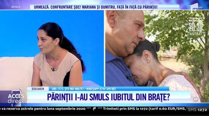 Suferință cruntă pentru o femeie! Părinții au despărțit-o de tatăl copiilor ei. Nu a mai mâncat nimic de dor!  /  VIDEO