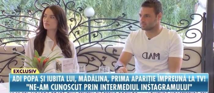 Adi Popa și Mădălina, în cadrul unui interviu pentru Antena Stars