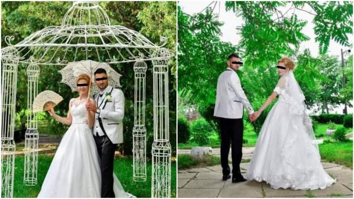 Pozele de nuntă ale lui Ionuț și Mirela, tinerii din Galați morți în accidentul din Germania