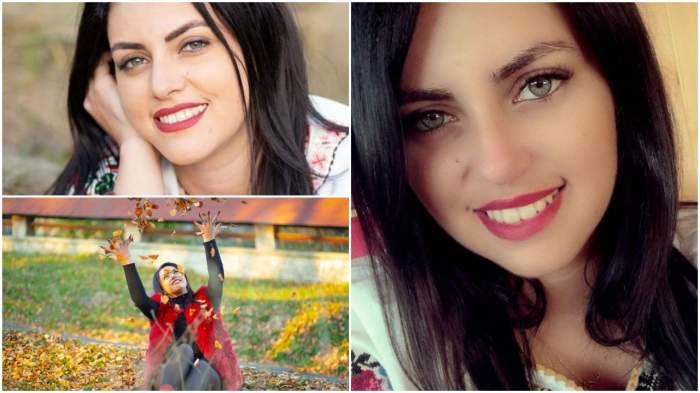 Colaj cu cântăreața de muzică populară Daniela Cușnir