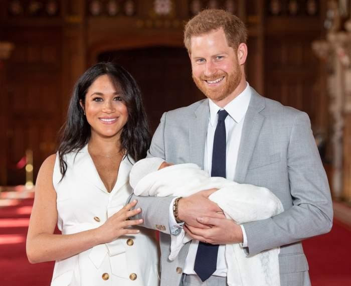 Prințul Harry și Meghan Markle își prezintă fiul lumii, 9 mai 2019