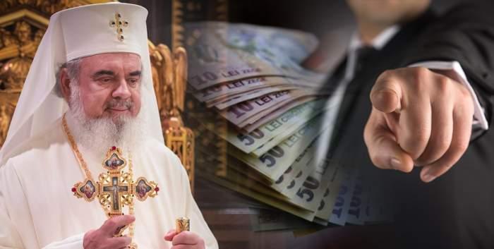 Patriarhul Daniel, la bară, pentru 20.000 de lei / Un enoriaș îl hărțuiește de opt ani