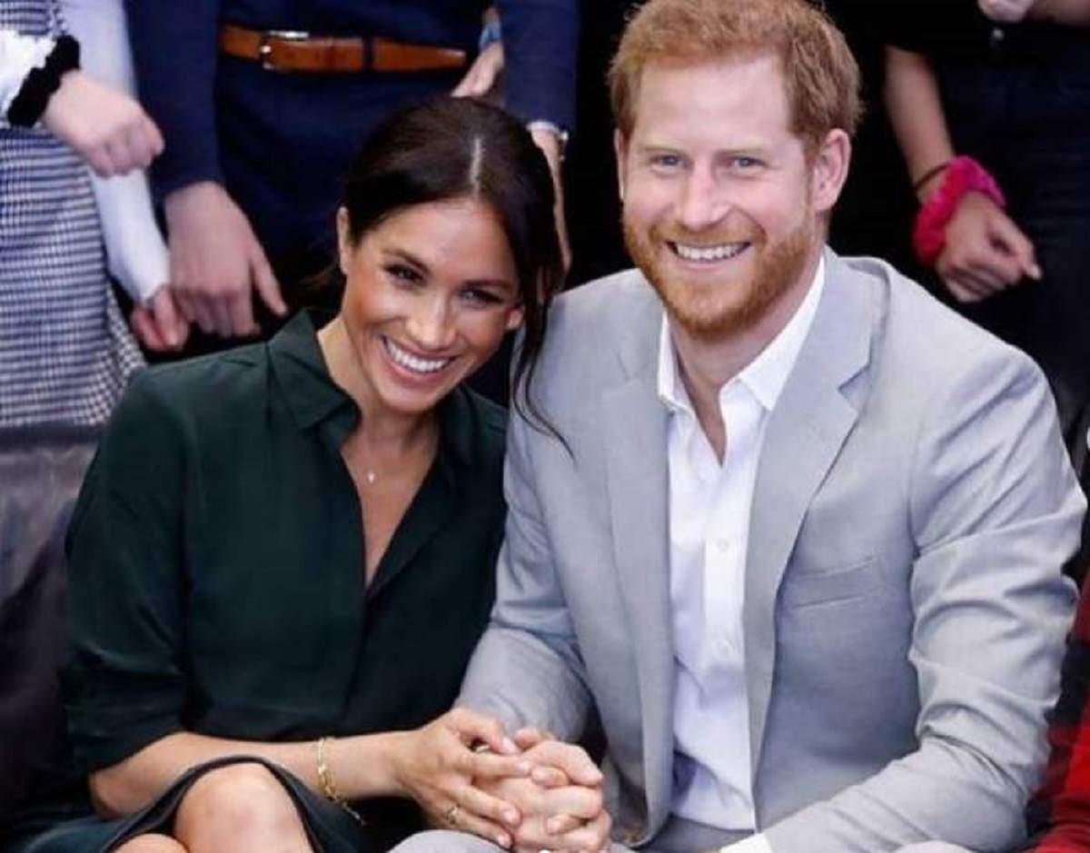Meghan Markle și prințul Harry la un eveniment