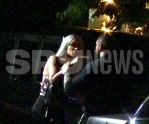 Imagini şocante în public! Bodi o bruschează pe Bianca Drăguşanu în văzul tuturor! O strânge de gât, iar un prieten de-al lui o pocneşte peste cap! VIDEO PAPARAZZI