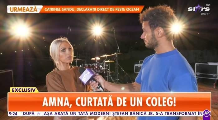 Amna, interviu pentru Dima Trofim