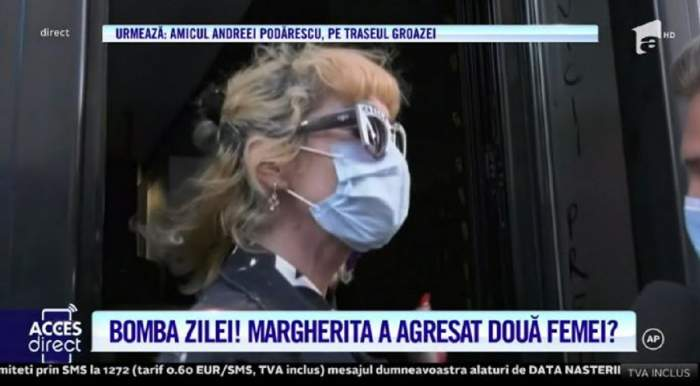 """Primele declarații ale Margheritei după ce ar fi lovit și amenințat două femei! Unde se află acum artista: """"Respect Poliția Română"""" / VIDEO"""