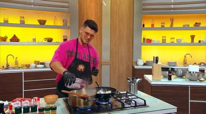 Mario Fresh gătește la Chefi la cuțite