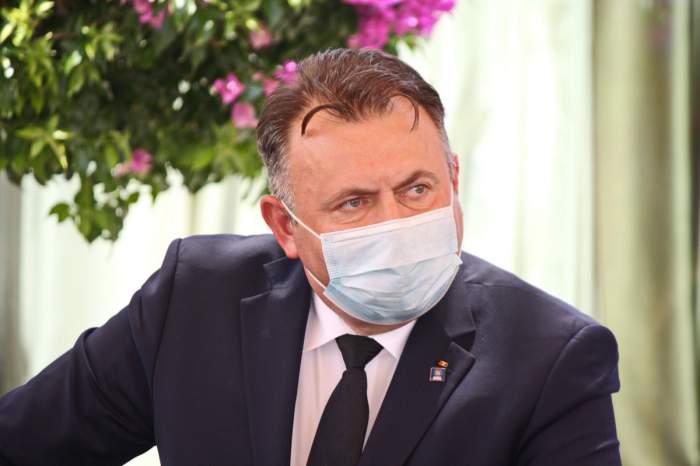 Nelu Tătaru la o conferință de presă în Iași, 24 iulie 2020