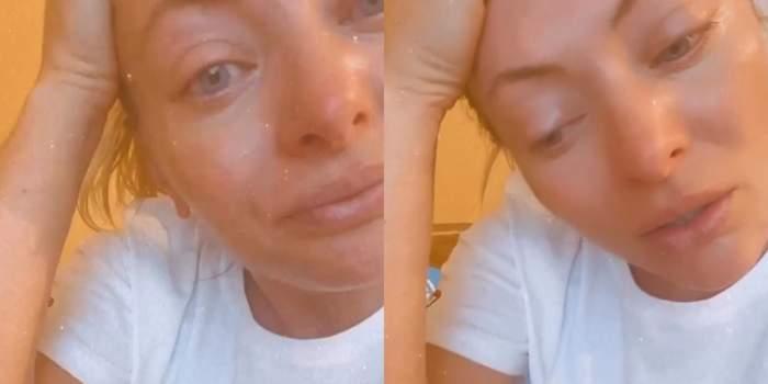 """Delia a izbucnit în plâns, după ce și-a adus aminte de traumele din copilărie. """"Ne țineau doar în chiloți"""" / VIDEO"""