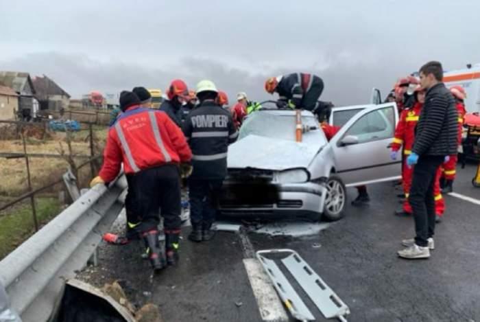 Accident grav în județul Hunedoara! Vinovat ar fi un tânăr de doar 19 ani