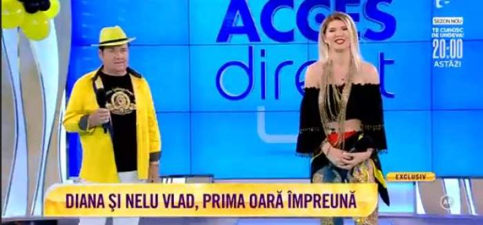 """nelu Vlad și Diana Matei cântă """"În stație la lizeanu"""""""