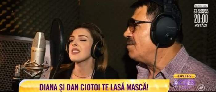 """Dan Ciotoi și Diana Bișinicu au cântat împreună la """"Acces Direct"""""""