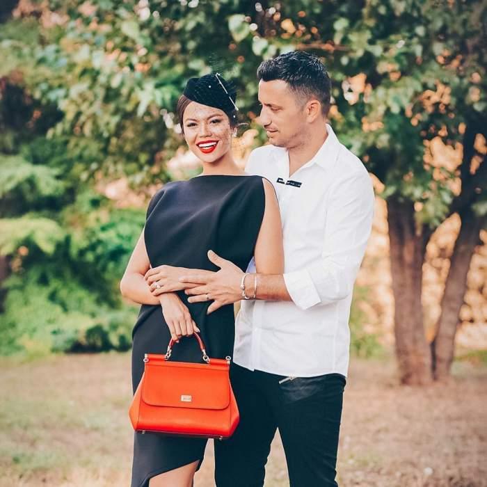 Flick și Denisa Hodișan s-au fotografiat la Oradea, îmbrăcați foarte elegant
