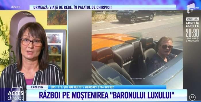"""Cel mai mare regret al fiicei secrete ale lui Constantin Dinescu, după moartea tatălui. """"Aș fi vrut să trăiască să-i dea o lecție / VIDEO"""