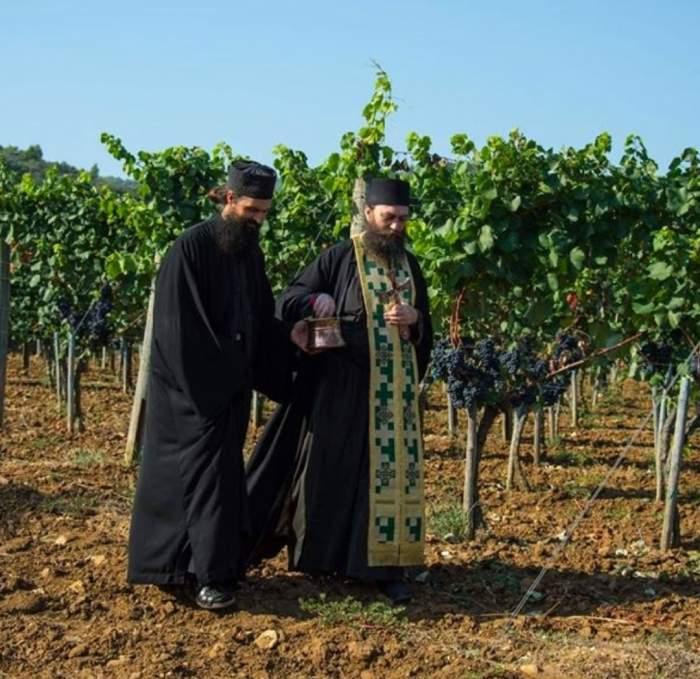 Opt călugari de pe Muntele Athos, testați pozitiv cu COVID-19. Cum a fost posibil
