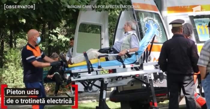 Bărbatul ucis de trotinetă înainte să se stingă din viață