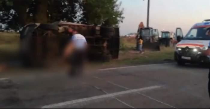 Imagini de la accidentul din Teleorman!