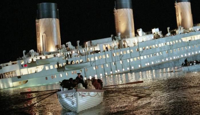 Titanicul scufundat