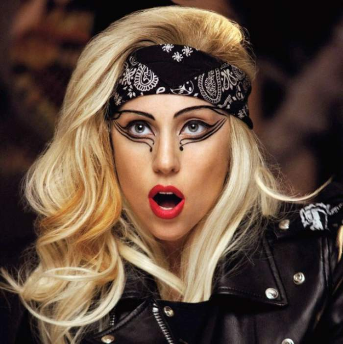 Lady Gaga la videoclipul său