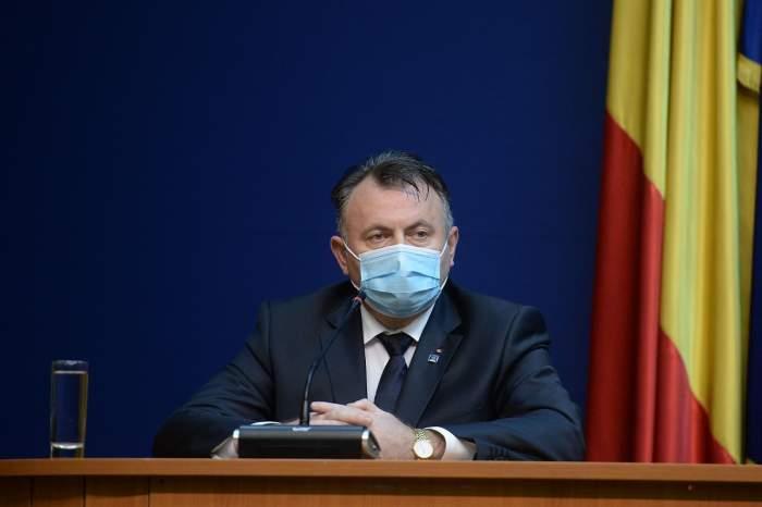 Nelu Tătaru la o declarație de presă, 15 mai 2020
