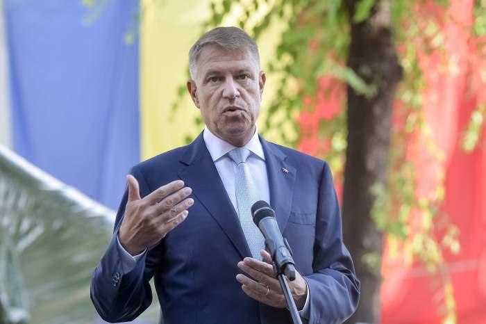 Președintele Klaus Iohannis, declarații de presă la Institutul Național de Cercetare Ion Cantacuzino din București, 8 iulie 2020